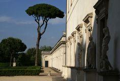 Rom, Viale Trinità dei Monti, Villa Medici, Galerie (gallery) | da HEN-Magonza