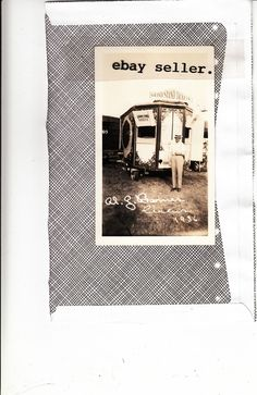 Al G Barnes Circus Ticket Booth Trailer 1936 Photo Very Good 3 5x5 75"