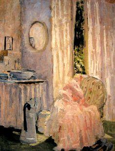 Bedroom Interior - Ethel Carrick Fox
