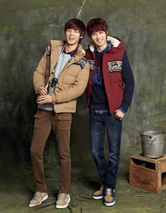 Kang MinHyuk & Lee JongHyun @ BANG BANG 2012 FALL Collection