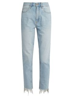M.I.H JEANS Mimi high-rise straight-leg jeans. #m.i.hjeans #cloth #jeans