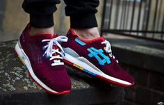 Great shot of these Asics Gel Lyte III Custom's. #sneakers