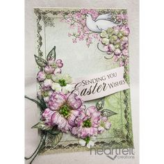 Heartfelt Creations - Flowering Dogwood Easter Wishes Project