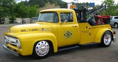1956 Ford F350 Tow Truck, cool...