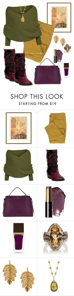 """The Color of Falling Leaves🍂🍁"" by parnett ❤ liked on Polyvore featuring Pottery Barn, A.S. 98, Etienne Aigner, Bobbi Brown Cosmetics, Tom Ford, Sevan Biçakçi and Marika"