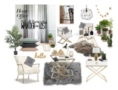 """""""Not all those who wander in their dreams are lost..."""" by mypotucek on Polyvore featuring interior, interiors, interior design, home, home decor, interior decorating, Safavieh, UGG, West Elm and PBteen"""