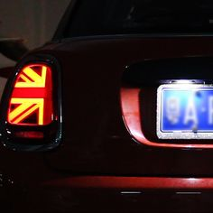 Mini Cooper Accessories, Left And Right, Led Tail Lights, Honda Logo, Union Jack, Save Energy, Good Things, Fitness, Red