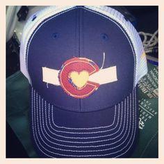 Just in today!  Colorado Love Trucker.  Love it.