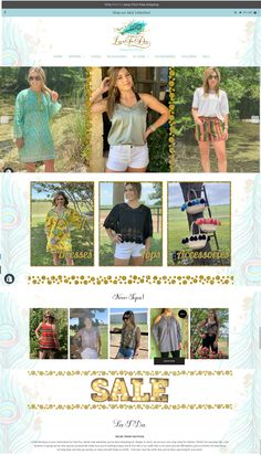 LaTDa Boutique is your destination for that fun, stylish new wardrobe you've been dreaming of. - website by #2FriendsDesigns - Call us today 541.654.4199 www.2friendsdesigns.com