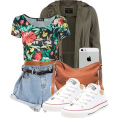 A fashion look from May 2014 featuring Dorothy Perkins jackets, Converse sneakers and Madewell shoulder bags. Browse and shop related looks.