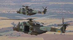 Entregan a las FAMET dos helicópteros NH90 'Caimán'