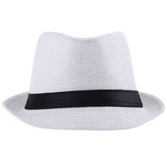 Children Solid Straw Hats Panama Fedora Hat For Boys And Girls Summer Beach  Cowboy Kids Jazz Caps 6 Colors 32fef19019f