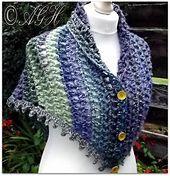 Ravelry: Dawn Treble Mesh Shawl pattern by ag handmades
