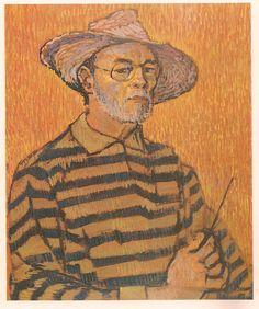Carlos Gonzalez Bogen, auto-retrato con sombrero, 1983. Painting, Venezuela, Portraits, Historia, Autos, Artists, Arch, Painting Art, Paintings