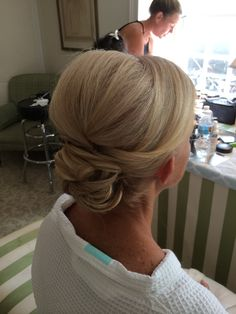 MOB updo by Kimberly