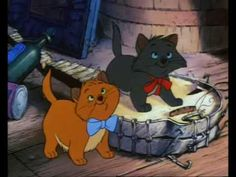 The irresistible swinging felines in Everybody Wants To Be A Cat from The Aristocats, directed by Wolfgang Reitherman