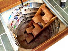 Underfloor wine cellar, Devon.
