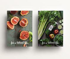 Desarrollo de branding para local de comida y jugos orgánicos en Miami.Bunker3022. Start-up branding for organic food store in Miami, USA.
