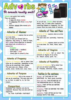 Adverbs worksheet - Free ESL printable worksheets made by teachers