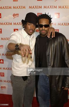 Marlon Wayans and Shawn Wayans during The Maxim Party at Super Bowl XXXVII at The Old Wonderbread Factory in San Diego, CA.
