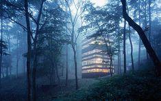 Una casa di campagna per godersi il silenzio della foresta