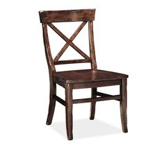 Aaron Side Chair, Alfresco Brown finish