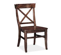 Aaron Side Chair, Alfresco Brown finish