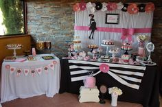 Ema's Baby Chic Baby Shower | CatchMyParty.com