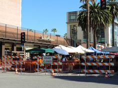 Farmers' Market e brunch no Monsieur Marcel em Santa Monica