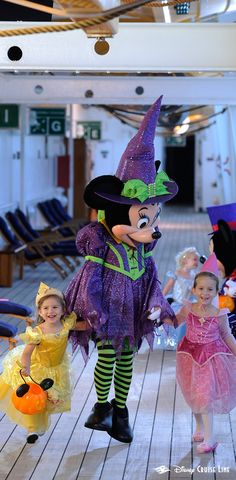 Discover treats, tricks, magical mischief and spooky surroundings as you celebrate Halloween on the High Seas! Thrills and chills await you at every turn with Halloween-themed parties, lively entertainment and elaborate décor—including an evolving Halloween Tree that eerily transforms throughout your cruise. Click to learn more about these select festive Disney Cruise Line itineraries!