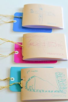 DIY: TRAVEL JOURNALS | make travels journals with kids drawings | willowday