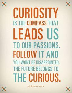 Curiosity.