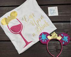 Food And Wine Shirt, Disney Princess Drinking Shirt, Food And Wine Shirt Ideas, Epcot Food And Wine, Cinderella Shirt, EPCOT Drinking Beauty