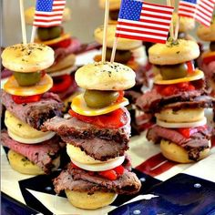 4th of july finger food