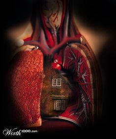 idiom: Home is where the heart is