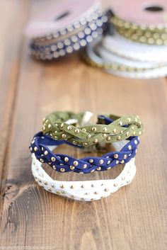 DIY Stud Braid Brace
