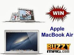 WIN an Apple Macbook Air Computer