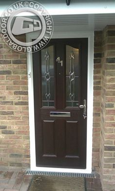 The ability to design, price and order a #compositedoor online has always been a major benefit to our customers, but increasingly more are asking to see how the doors look when fitted into real homes, heres a selection of #fittedcompositedoors #frontdoors #globaldoors  design price and order yours now, on the link below