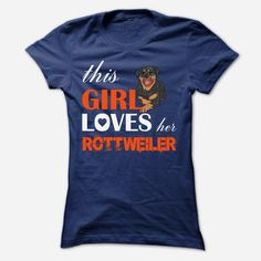 This Girl Loves Her   rottweiler Order HERE ==> https://www.sunfrog.com/Pets/This-Girl-Loves-Her--rottweiler-nfsgb-Ladies.html?41088 Please tag & share with your friends who would love it  #xmasgifts #renegadelife #superbowl