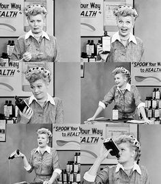 I Love Lucy. SPOON your way to Health with Vitamitavega... Vitamita... Vitaveja.. Vitamitavegamins! It's so tasty too!