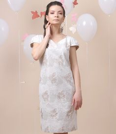 Party all night! Spring17 | YOKKO #dress #beige #spring17 #dance #cotton #fashion #yokko
