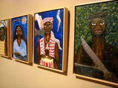 Afro-Latino exhibit at the Museum of Art of Caguas, Puerto Rico