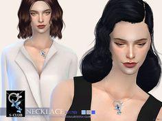 The Sims 4 Mody: Naszyjnik dla kobiet od S-Club