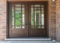 I Want These Doors For My House Country French Exterior