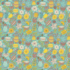Macarons Pattern on Behance
