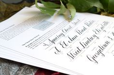 Introducing the All New Beth Style Calligraphy Worksheet   The Postman's Knock