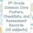 This 64 MEGAPACK includes each of the following for Math, Reading, Writing, Speaking and Language Arts:  ~self-assessment record for each student  ...
