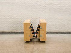 The Crates Football Table Design By Naihan Li