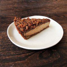 #RECIPE - Vegan Peanut Butter Chocolate Cheesecake