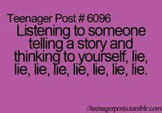 teenager post and lies image